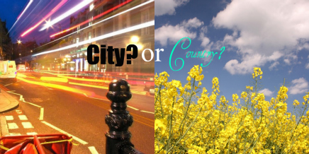 City vs Country Life